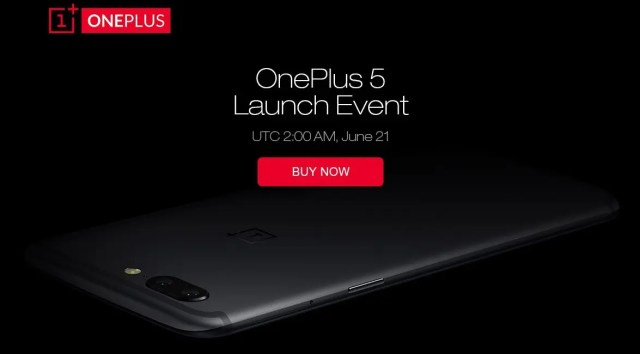 OnePlus-5 Launch event