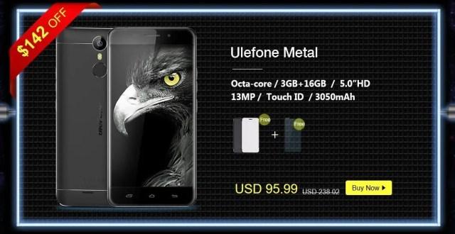 GeekBuying Ulefone ブランドセール Ulefone Metal
