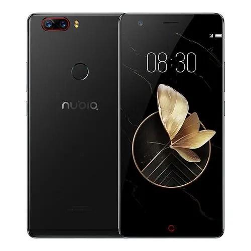 geekbuying ZTE Nubia Z17 Snapdragon 835 MSM8998 2.35GHz 8コア BLACK(ブラック)
