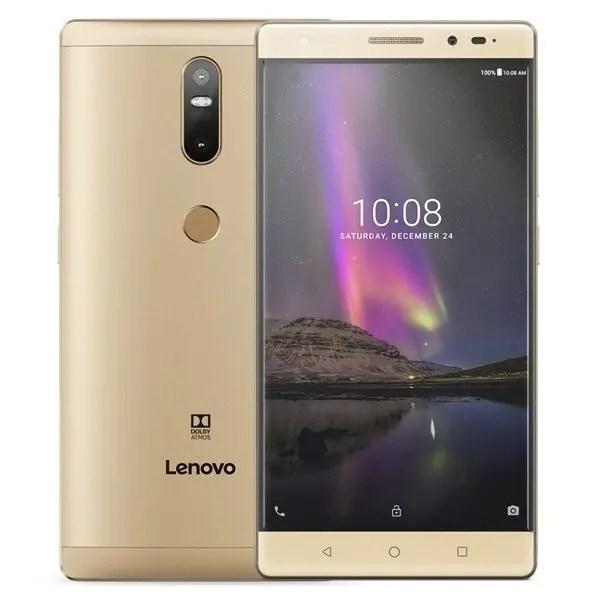 banggood LENOVO phab2 Plus MTK8783 1.3GHz 4コア GOLD(ゴールド)