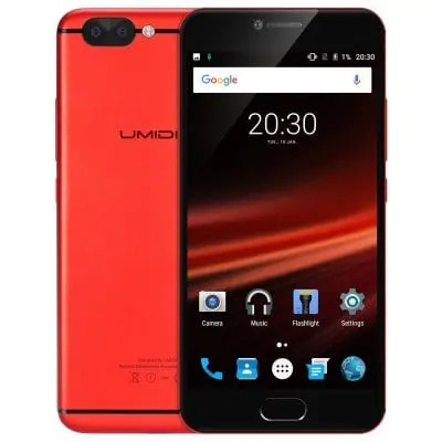 gearbest AQUOS R  MTK6757 Helio P20 2.3GHz 8コア RED(レッド)