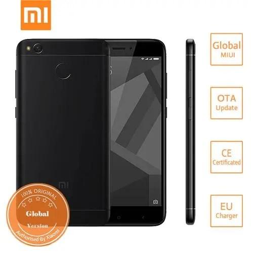 geekbuying Xiaomi Redmi 4X Snapdragon 435 MSM8940 1.4GHz 8コア BLACK(ブラック)