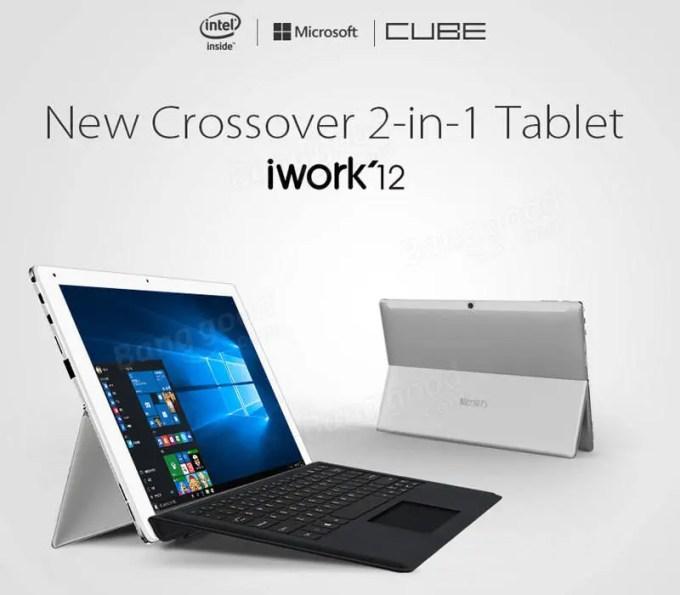 CUBE iWork 12 タブレット