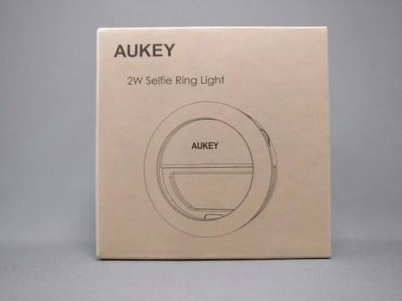 AUKEY LED リングライト 化粧箱 表