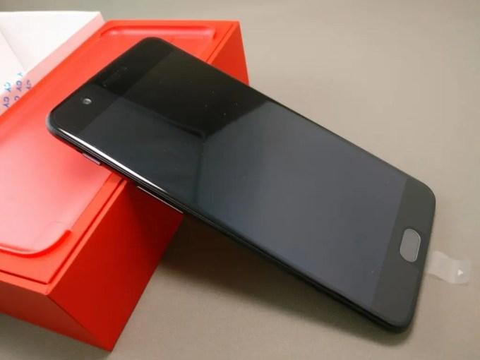 OnePlus5 開封  表