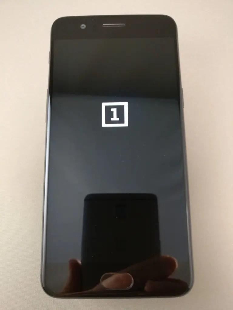 OnePlus5 起動2