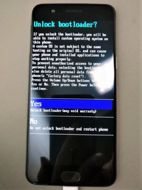 OnePlus5 Unlock