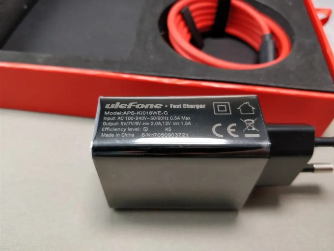 Ulefone Gemini Pro USBアダプタ