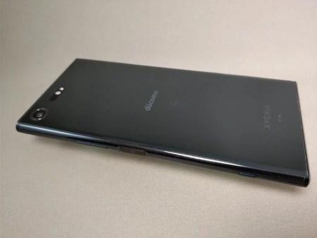 Xperia XZ Premium 裏 ななめ2