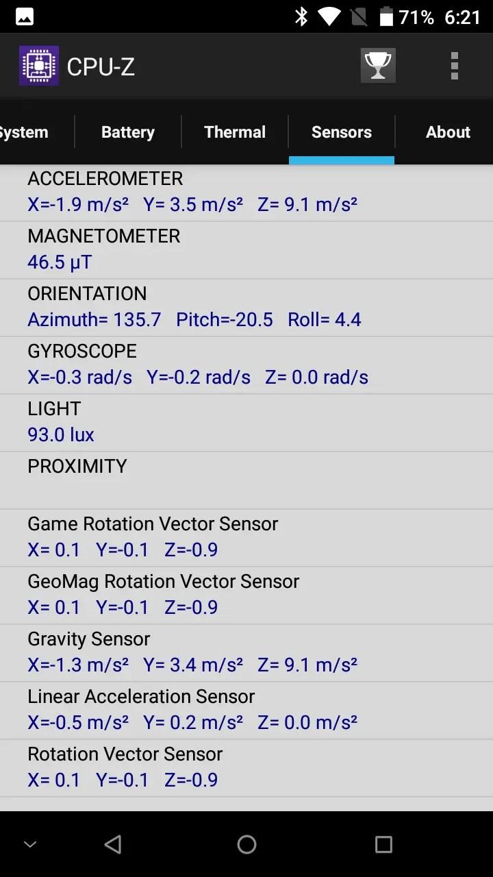 DOOGEE MIX CPU-Z7