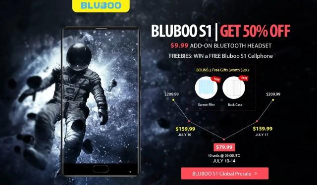 Bluboo S1 Presale