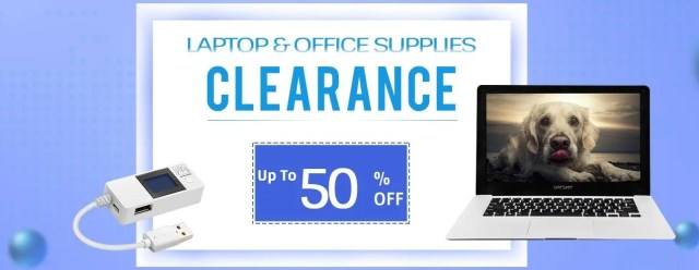 July Clearance Promotion Page -Laptop&Office Supplies