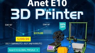 【GearBest独占販売】3Dプリンター Anet E10 + 中華イヤホン KZ ZS5 9.99ドル + デイリークーポン