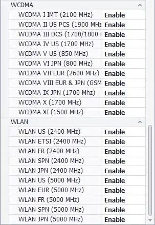 Mi6 WCDMA QTool