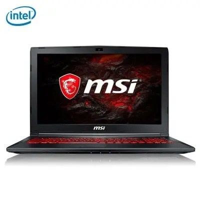MSI GL62M 7RDX 1642CN Core i5-7300HQ 2.5GHz 2コア