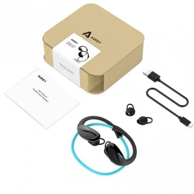 AUKEY Bluetooth ヘッドセット EP-B34 3