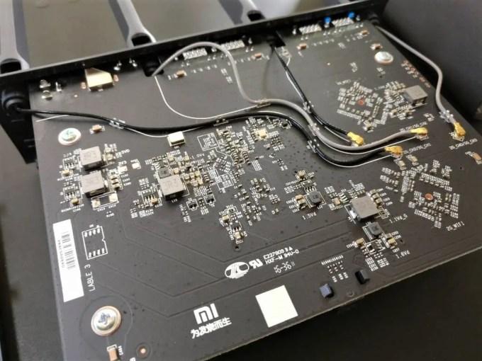 Xiaomi Mi R3P Wifiルーター Pro 基盤2