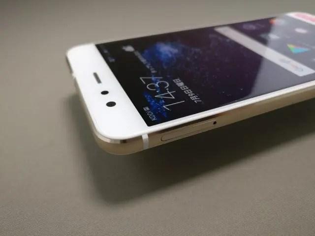 Huawei P10 Lite UQ mobile 貸出機 表 上