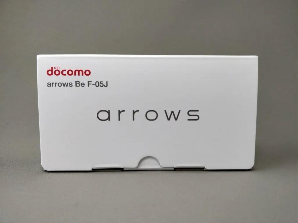 arrows Be F-05J 化粧箱