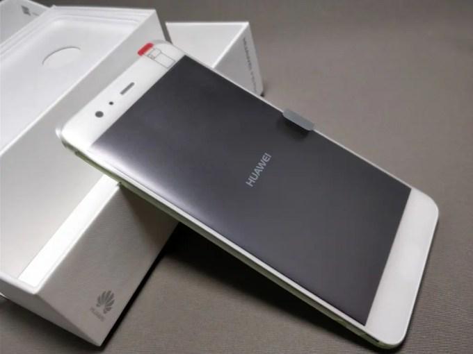 Huawei P10 Plus 化粧箱 開封 表