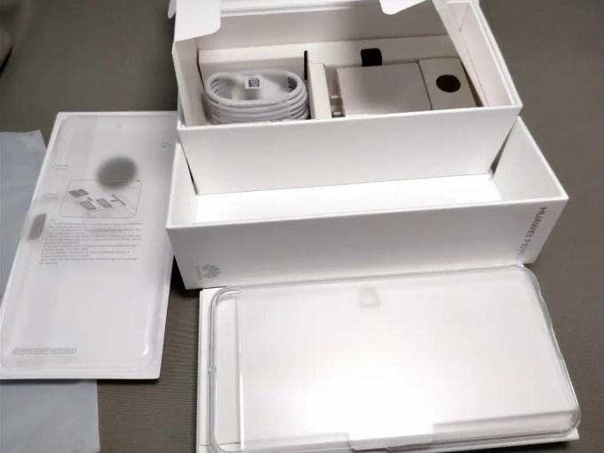 Huawei P10 Plus 化粧箱 付属品 セット