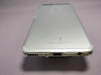 Huawei P10 Plus 保護ケース装着 下