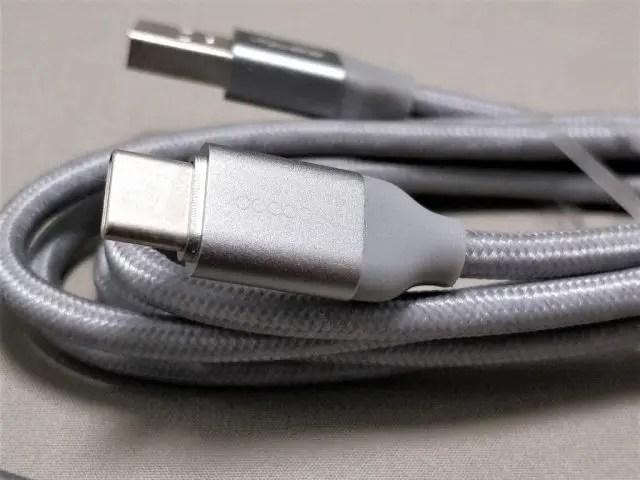 dodocool USB3.0 Typc-C Type-A SSケーブル