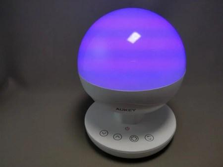 Aukey LEDデスクランプ LT-ST10 LED色6