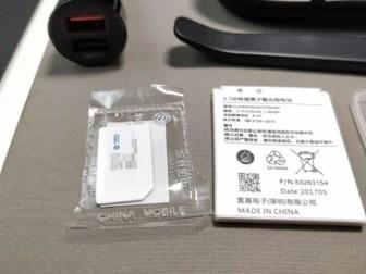 Xiaomi 70 Steps Smart Rearview Mirror 開封 SIMカード
