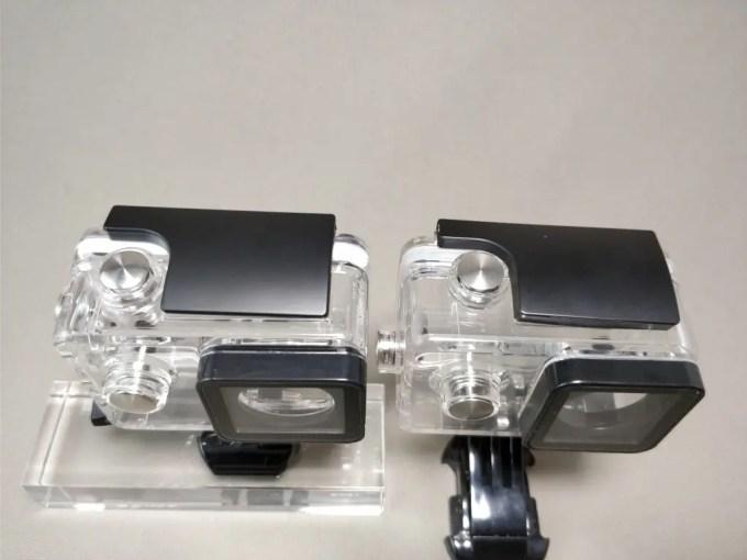 Aukeyアクションカメラと比較 防水ハウジング 2