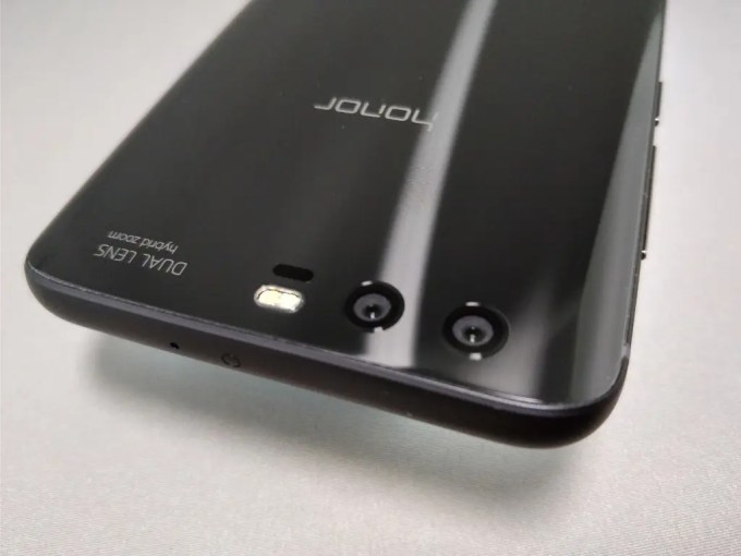 Huawei Honor 9 リアカメラ