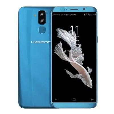 gearbest MEIIGOO S8 MTK6750T 1.5GHz 8コア BLUE(ブルー)