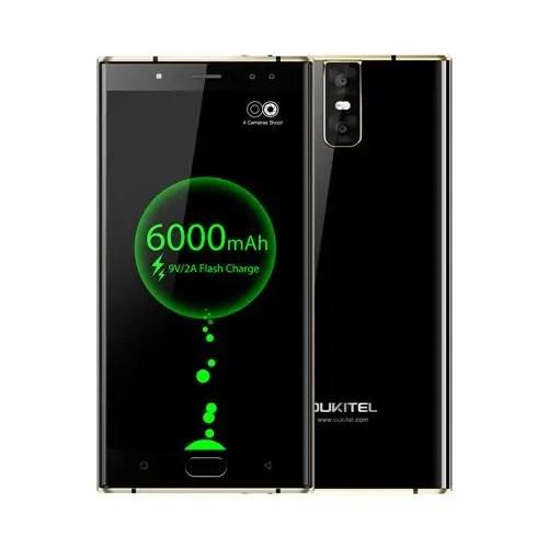 Oukitel K3 MTK6750T 1.5GHz 8コア