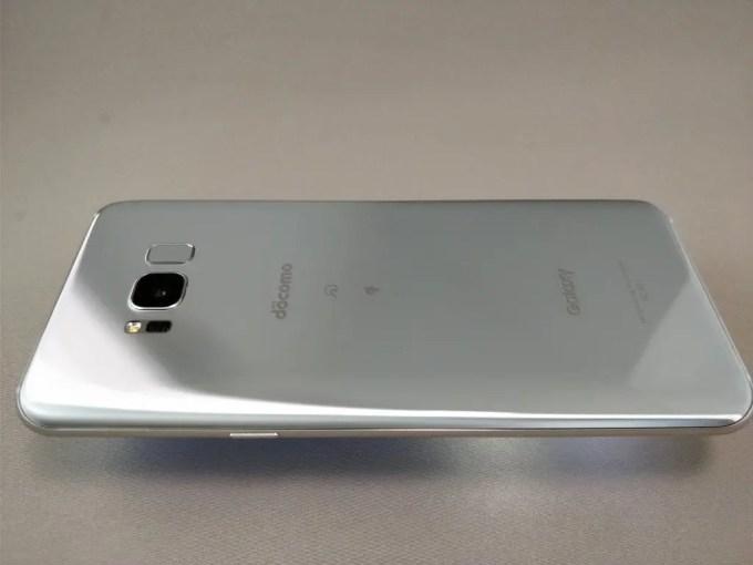 Galaxy S8+ 裏 横