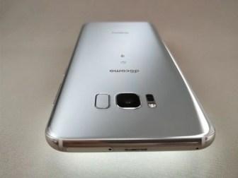 Galaxy S8+ 裏 上