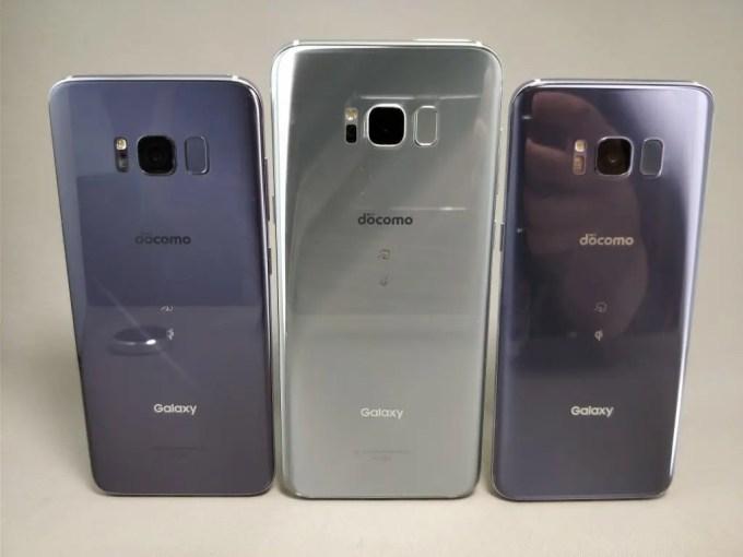 Galaxy S8 VS Galaxy S8+ サイズ比較4