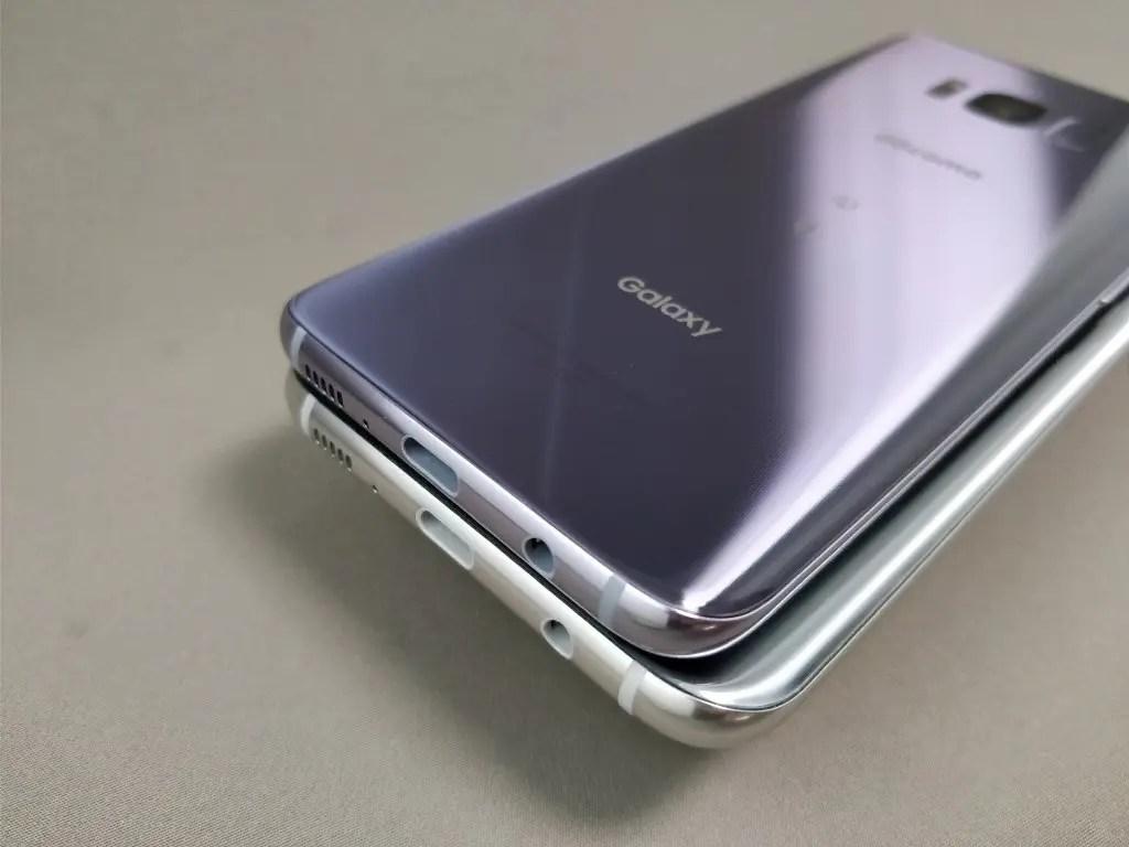 Galaxy S8 VS Galaxy S8+3