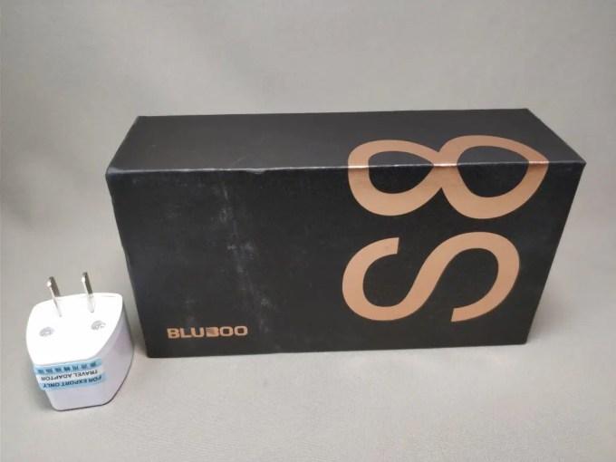 BLUBOO S8 化粧箱