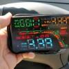 KKmoon カーHUDヘッドアップディスプレイ 開封の儀 レビュー タイヤ空気圧・電圧・燃費・水温・速度測定