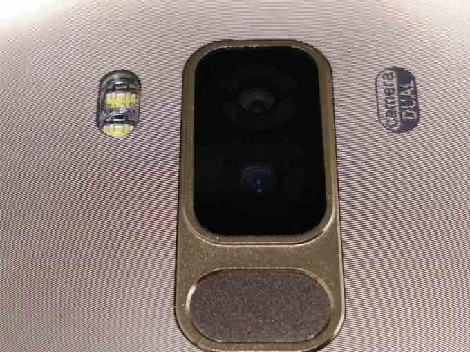 DOOGEE S8 リアカメラ3