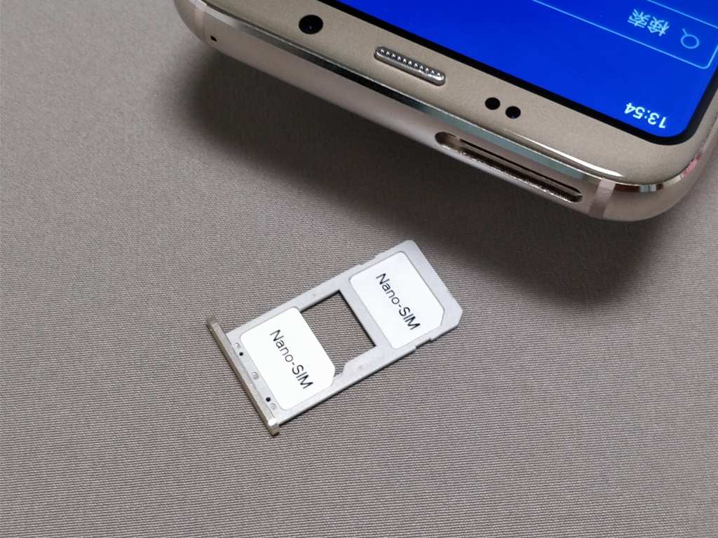 DOOGEE S8 SIMスロット NanoSIM2枚