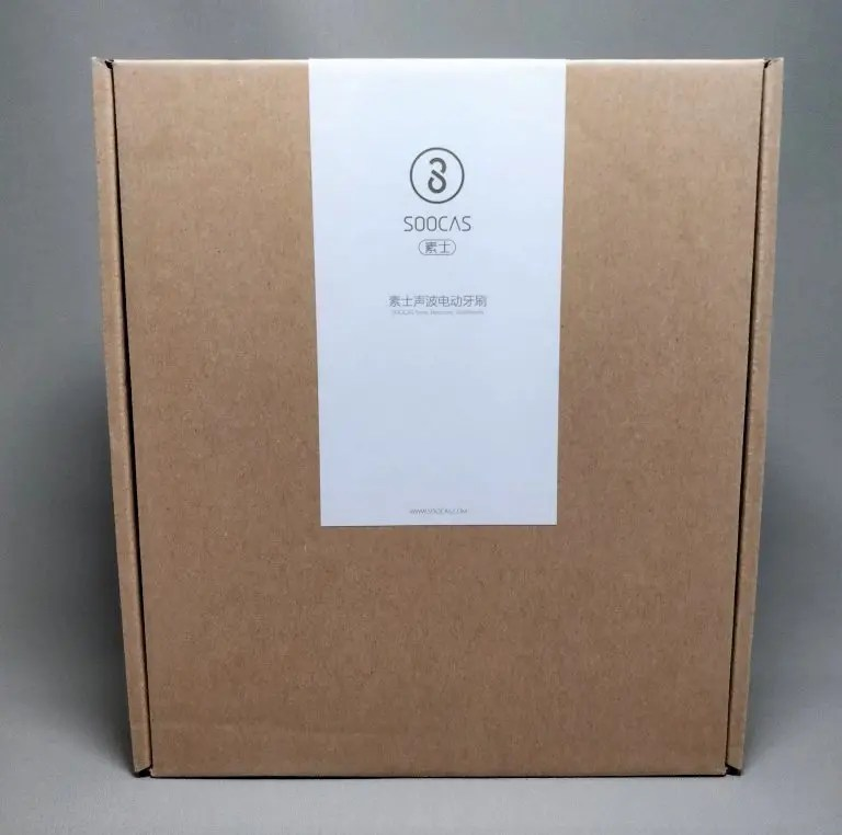 Xiaomi Soocas X3 電動歯ブラシ 化粧箱 ダンボール