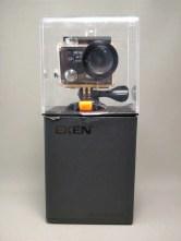 EKEN H8s 4K アクションカメラ 化粧箱 表