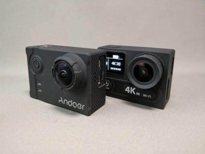 EKEN H8s 4K アクションカメラ Andoer AN7000 比較