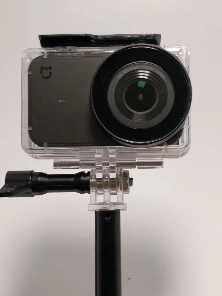 アクションカメラ用自撮り棒 防水ハウジング