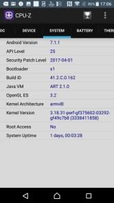 Xperia XZs CPU-Z 4