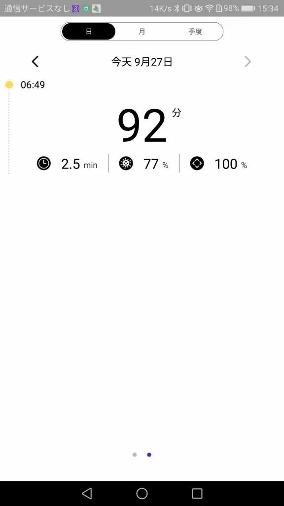 Xiaomi Soocas X3 電動歯ブラシ Mi home ログ