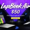 【CHUWI LapBook Air】出た!50ドルOffクーポンか1名様にプレゼント