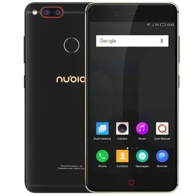Nubia Z17 Mini Snapdragon 652 MSM8976 1.8GHz 8コア