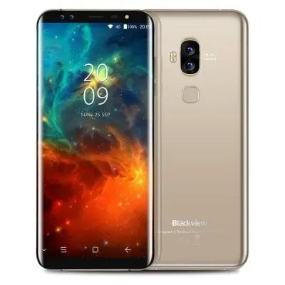 gearbest Blackview S8 MTK6750T 1.5GHz 8コア GOLDEN(ゴールデン)